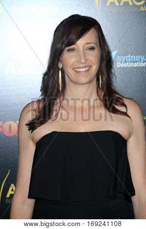 LOS ANGELES - JAN 6:  Angie Fielder at the 6th AACTA International Awards at 229 Images on January 6, 2017 in Los Angeles, CA