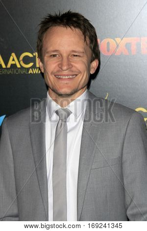 LOS ANGELES - JAN 6:  Damon Herriman at the 6th AACTA International Awards at 229 Images on January 6, 2017 in Los Angeles, CA