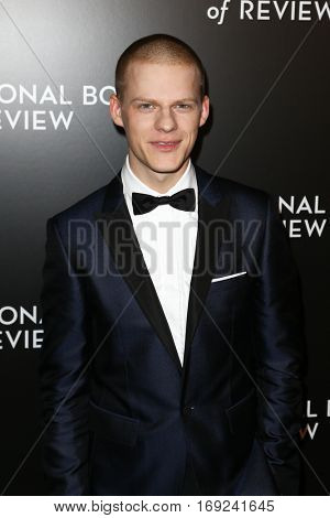 NEW YORK-JAN 4: Actor Lucas Hedges attends the National Board of Review Gala at Cipriani Wall Street in New York on January 4, 2017.