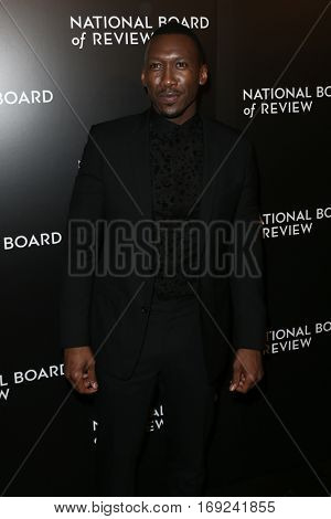 NEW YORK-JAN 4: Actor Mahershala Ali attends the National Board of Review Gala at Cipriani Wall Street in New York on January 4, 2017.