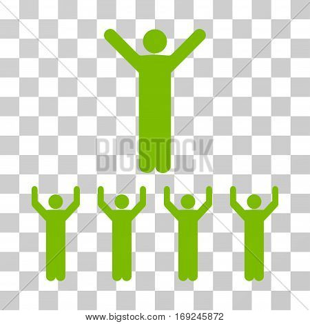 Religion icon. Vector illustration style is flat iconic symbol eco green color transparent background. Designed for web and software interfaces.