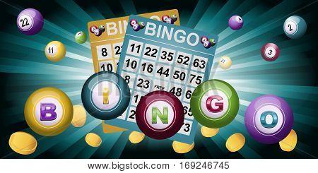 Bingo Ball and tickets