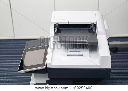 setting printer prepare for document printing and scanning