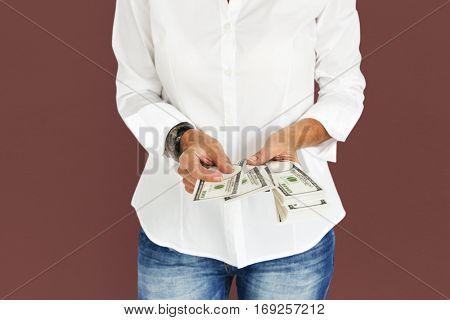 People Dollar Money Wealth Rich Concept