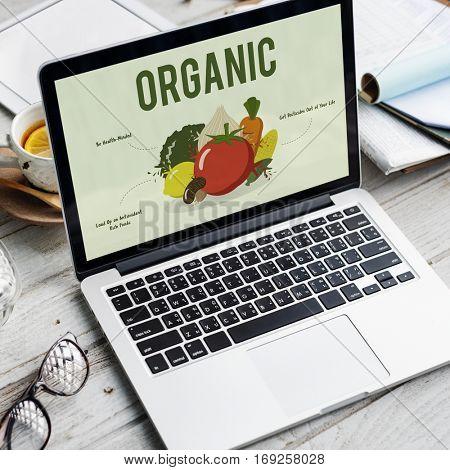 Organic Vegetable Vegan Fresh Fruit