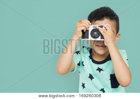 Little Boy Camera Studio Concept