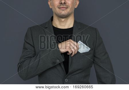 Business Man Credit Card