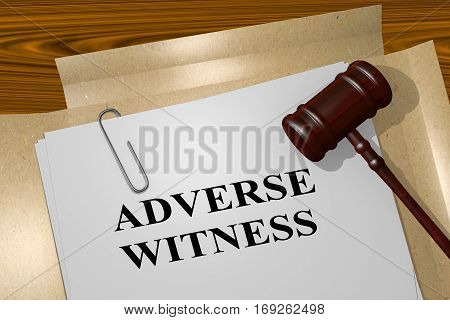 Adverse Witness Concept