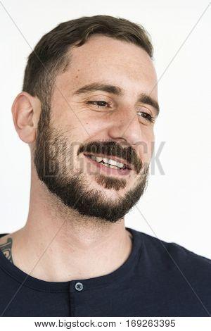 Man Attitude Dude Emotion Joyful