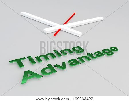 Timing Advantage Concept