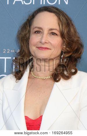 LOS ANGELES - DEC 11:  Nina Jacobson at the 22nd Annual Critics' Choice Awards at Barker Hanger on December 11, 2016 in Santa Monica, CA