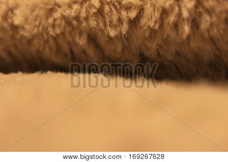 Background of a soft and warm blanket with fleece