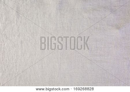 Nutural color linen as a background .