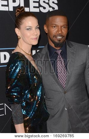 LOS ANGELES - JAN 5:  Michelle Monaghan, Jamie Foxx at the