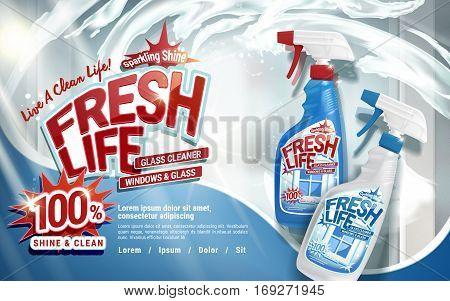 House Detergent Ad