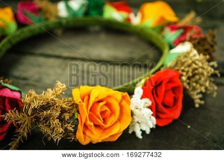Diadem roses bouquet Flowers colorful and beautiful