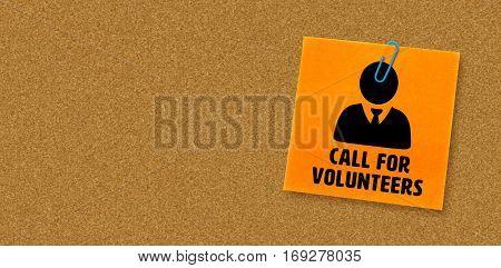 Call for volunteers against orange