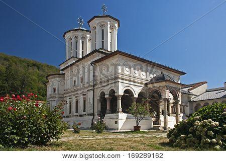 The orthodox Horezu monastery unesco world heritage