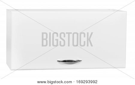 modern bathroom furniture isolated on white background