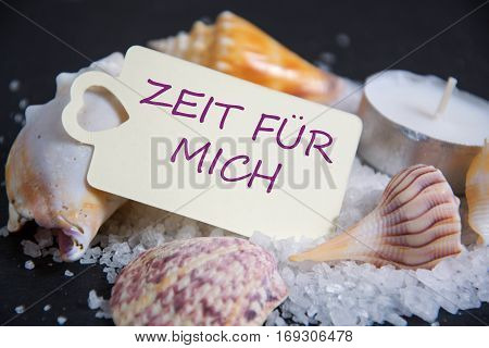 Zeit für Mich - the german word for timeout