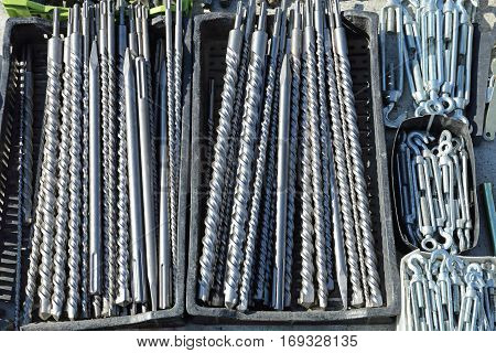 Long Drill Bits For Professional Use Tools Equipment