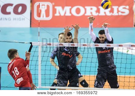 Hellenic Volleyball League Game Paok Vs Olympiacos