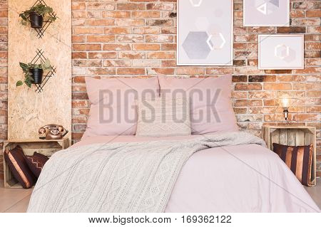 Loft Bedroom With Double Bed