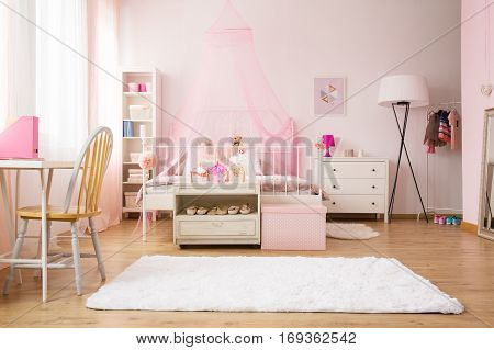 Multifunctional Girl Room With Bed