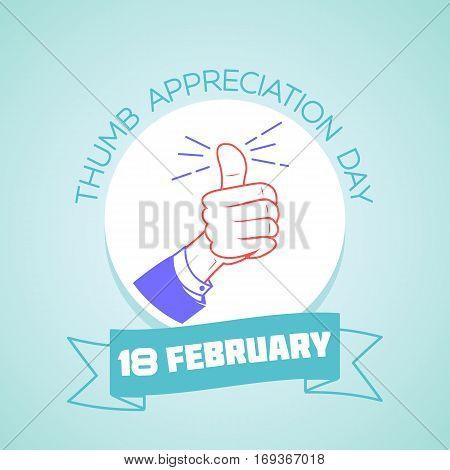 18 February  Thumb Appreciation Day 2