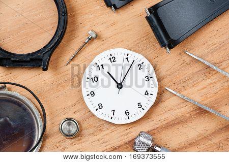 Repairing The Watch