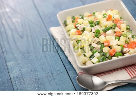 macedonia salad, macedoine de legumes, mixed vegetable salad, french cuisine