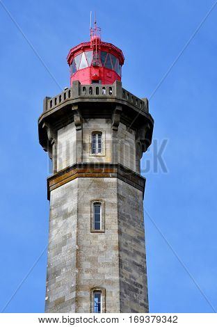 Saint Clement des Baleines France - september 26 2016 : the lighthouse