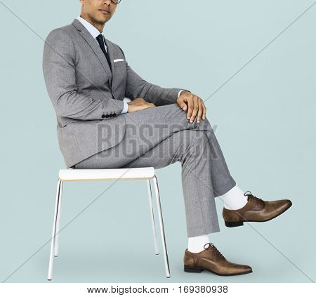 Man Confidence Self Esteem Portrait Concept