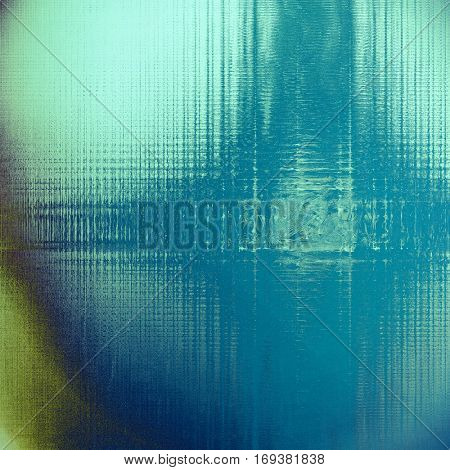 Old crumpled grunge background or ancient texture. With different color patterns: yellow (beige); brown; blue; gray; cyan