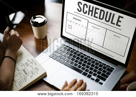 Schedule Agenda Planner Reminder Concept