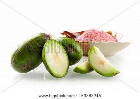 Makok (hog plums or spanish plums) fruit in Thailand.