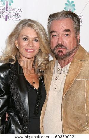 Palm Springs - JAN 4:  Denise DuBarry, John Callahan at the Palm Springs International Film Festival