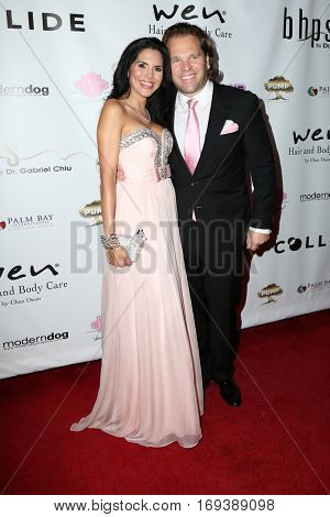 LOS ANGELES - NOV 3:  Joyce Giraud, Michael Ohoven at the Vanderpump Dogs Foundation Gala at Taglyan Cultural Complex  on November 3, 2016 in Los Angeles, CA