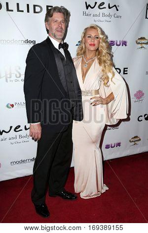LOS ANGELES - NOV 3:  Slade Smiley, Gretchen Rossi at the Vanderpump Dogs Foundation Gala at Taglyan Cultural Complex  on November 3, 2016 in Los Angeles, CA