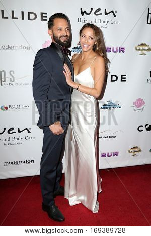 LOS ANGELES - NOV 3:  Brian Carter, Kristen Doute at the Vanderpump Dogs Foundation Gala at Taglyan Cultural Complex  on November 3, 2016 in Los Angeles, CA
