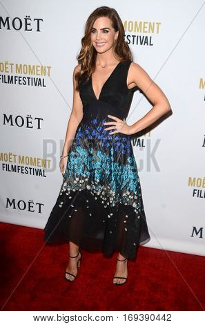 LOS ANGELES - JAN 4:  Jillian Murray at the 2nd Annual Moet Moment Film Festival at Doheny Room on January 4, 2017 in West Hollywood, CA