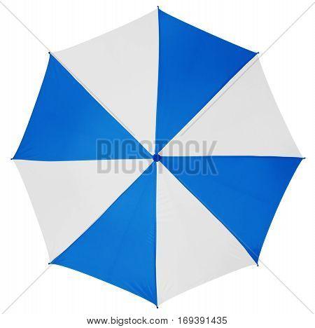 Umbrella Isolated- Light Blue-white