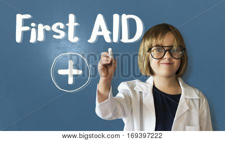 Cross First Aid Paramedic Medication Accidental Emergency Concept