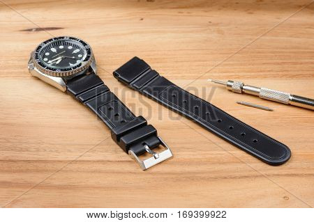 Rubber Watch Band