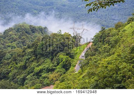 Beauty of Wayanad ghats - Kerala, South India
