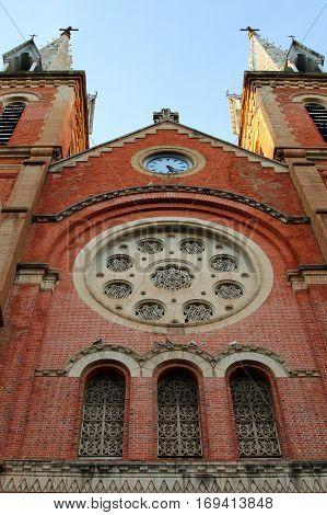 Saigon Notre-Dame Basilica Ho Chi Minh City Vietnam