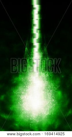cyber-ray plasma, an abstract background