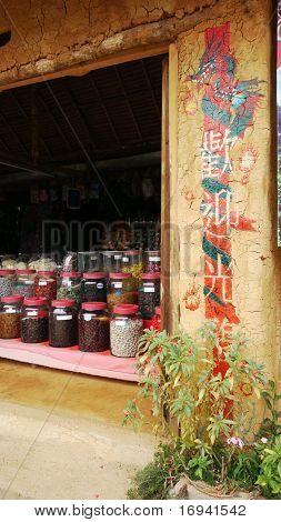 Chinese Shop In Ban Rak