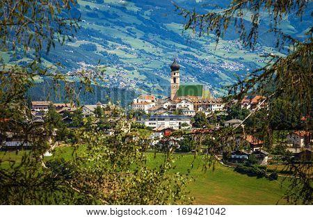 Fiè allo Sciliar - Small cute town in Trentino-Alto Adige (Sudtirol) Italy