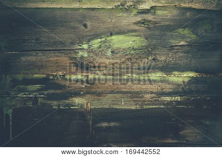 Vintage Old Barn Wood Background. Paint Dirty Reclaimed Wood Backdrop.